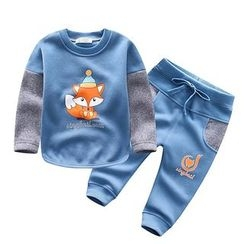Endymion - 小童套裝: 印花衛衣 + 運動褲
