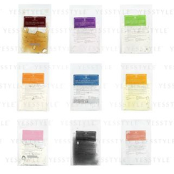 Annie's Way - Jelly Mask 35ml set: Italy Red Wine + Lavender Relaxing + Aloe Anti-Acne + Honey Deep Moisturizing  + Arbutin+Hyaluronic Acid Brightening + Q10 Anti-Aging + Calendula Softening + Charcoal Black + Rose Essence + Spatula