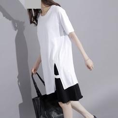 Sonne - Slit-Side Long T-Shirt