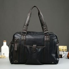ETONWEAG - Faux Leather Carryall Bag