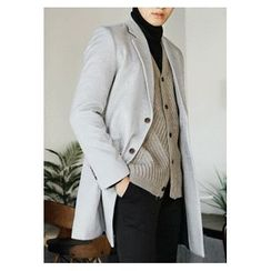HOTBOOM - Wool Blend Coat