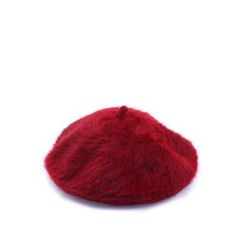Ohkkage - Wool Blend Furry Beret