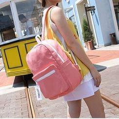 Seok - 純色帆布背包