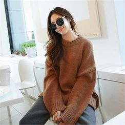 PIPPIN - Slit-Side Wool Blend Sweater