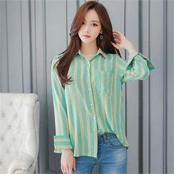 Babi n Pumkin - Striped Shirt