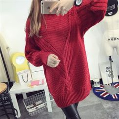 Amarillo - Chunky Knit Long Sweater