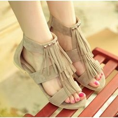 Bootsling - Fringed Sandals