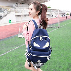 Tasche - Print Canvas Backpack