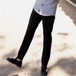 Smallman - Band-Waist Dress Pants
