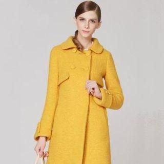 O.SA - Wool-Blend Double-Breasted Coat