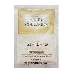 The Face Shop - Salon Effect Pearl & Collagen Mask Powder 18g