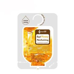 SKIN FACTORY - Real Honey Moisturizing Ampoule Mask 10pcs