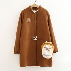 ninna nanna - Toggle Knit Coat