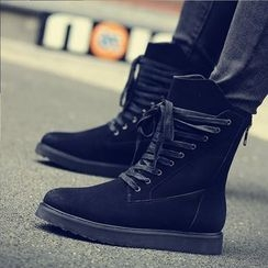 Chariot - Lace-Up Short Boots