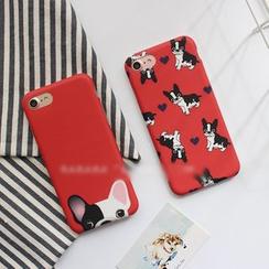 Hachi - Dog Print Phone Case - Apple iPhone 6 / 6 Plus / 7 / 7 Plus