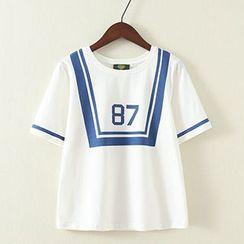 ninna nanna - Short-Sleeve Print T-Shirt