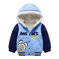 Ansel's - Kids Applique Hooded Jacket