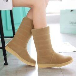 Sidewalk - 童装夹棉中筒靴
