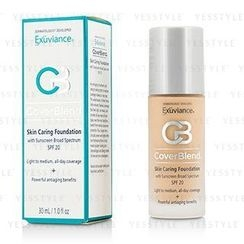 Exuviance - CoverBlend Skin Caring Foundation SPF20 (True Beige)