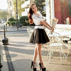 Dabuwawa - Tulle A-Line Skirt