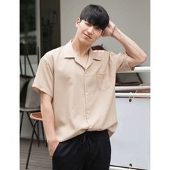 STYLEMAN - Short-Sleeve Colored Shirt