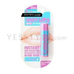 Maybelline New York - Baby Lips SPF 20 (Anti-Oxidant Berry)