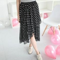 Mini Jule - Polka-Dot Maxi Skirt