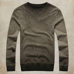 Mannmix - Star Gradient Sweatshirt