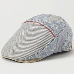 GRACE - Mixed Fabric Hunting Cap