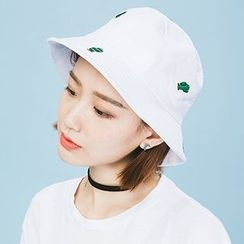 Heynew - Cactus Embroidered Bucket Hat
