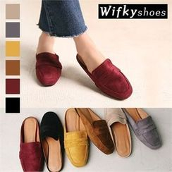 Wifky - Faux-Suede Mules