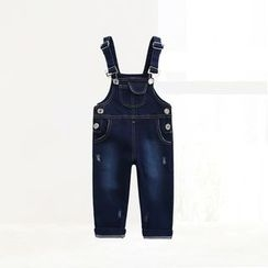 ciciibear - Kids Denim Dungaree