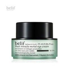 Belif - Peat Miracle Revital Eye Cream 25ml