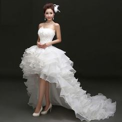 Amanecer - Ruffle Lace Wedding Gown