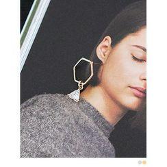 PINKROCKET - Rhinestone Earrings