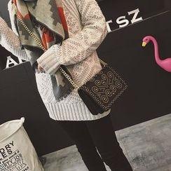 Rosanna Bags - Studded Chain Strap Crossbody Bag