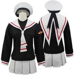 Cosgirl - Card-captor Sakura Sakura Kinomoto Cosplay Costume