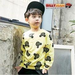 BILLY JEAN - Boys Crew-Neck Pattern Sweatshirt