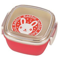 Miyamoto Sangyo - Animal Stamp Square Lunch Bowl