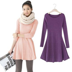 Zosia - Long-Sleeve A-Line Dress