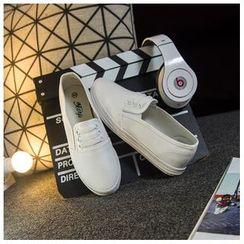 EUNICE - 系帶帆布鞋
