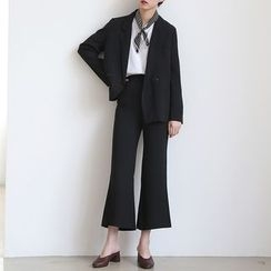 ELLY - Set: Double-Breasted Blazer + Dress Pants
