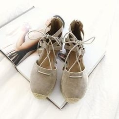 NANING9 - Faux-Suede Sandals