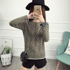 Loytio - Cable Knit Sweater