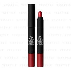 3 CONCEPT EYES - Matte Lip Crayon (Airy Red)