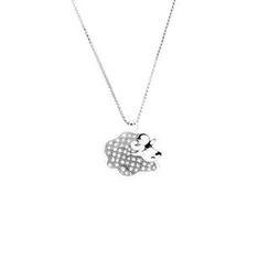 Glamagem - 12 Zodiac Collection - Pretty Sheep With Necklace