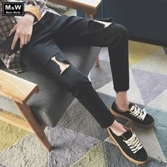 Masowild - Distressed Tapered Jeans