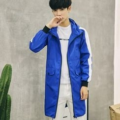 Eight Degrees - Hooded Long Jacket