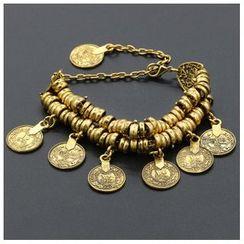 Cheermo - Metal Pendant Bracelet