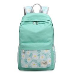 VIVA - Floral Print Panel Backpack